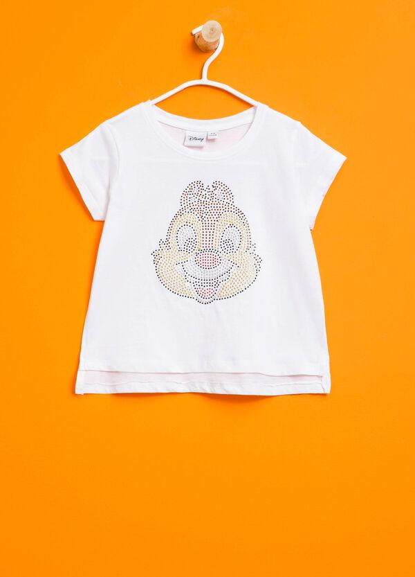 T-shirt con strass Cip & Ciop   OVS