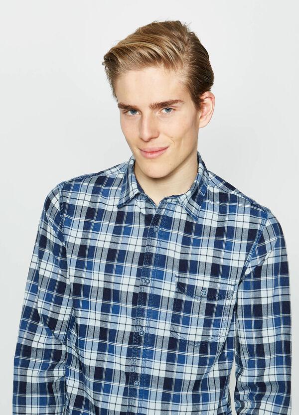 Camicia casual in cotone a quadri G&H | OVS
