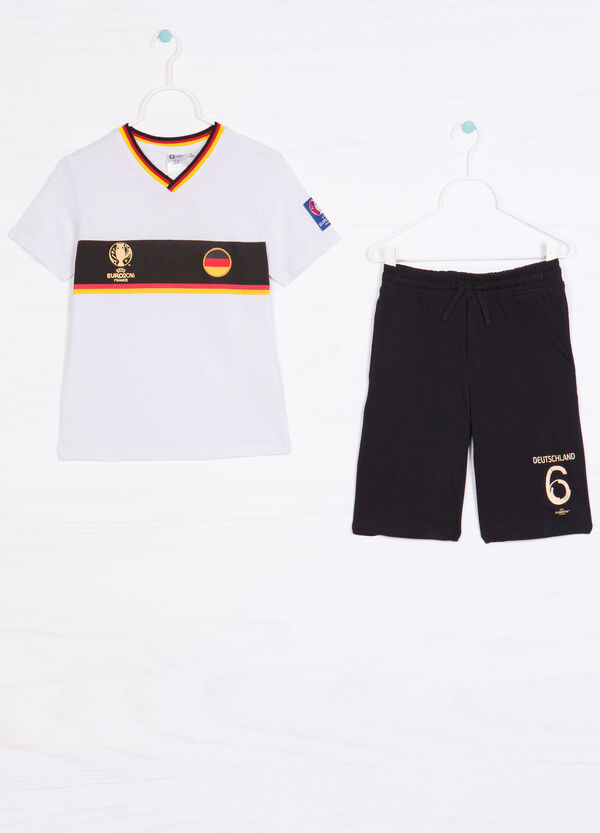 Cotton outfit with UEFA Euro 2016 print | OVS