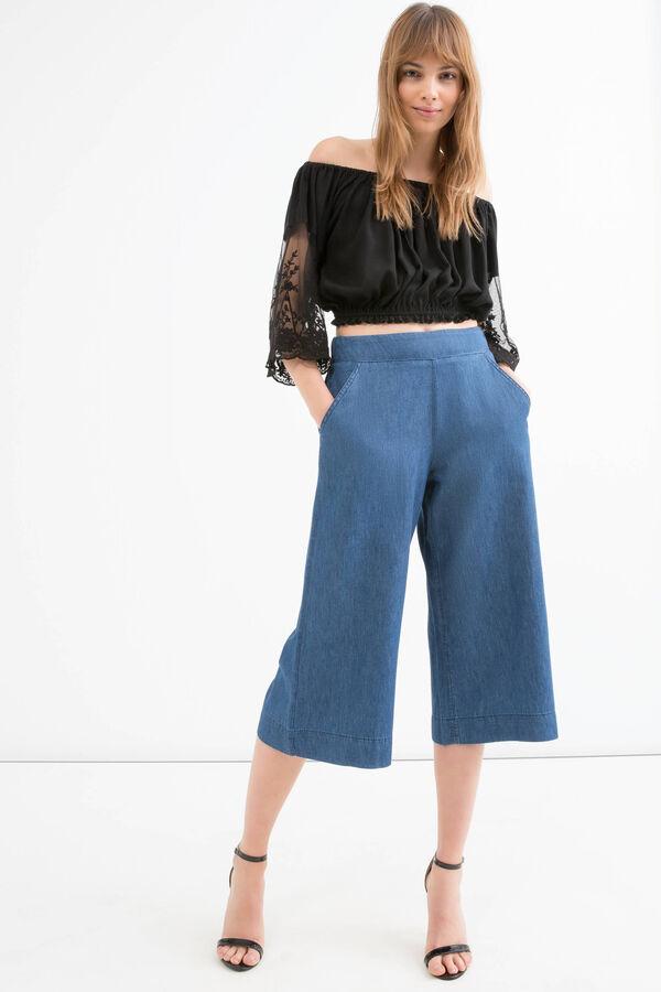 Jeans vita alta con tasche | OVS