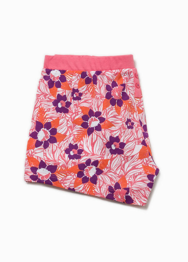 Shorts pigiama con stampa all-over | OVS