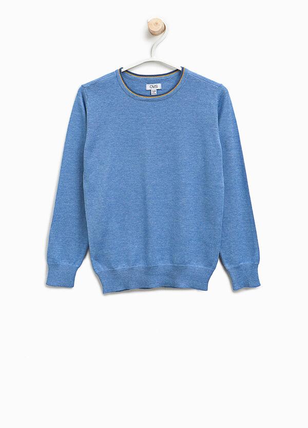 Pullover in misto cotone tinta unita | OVS