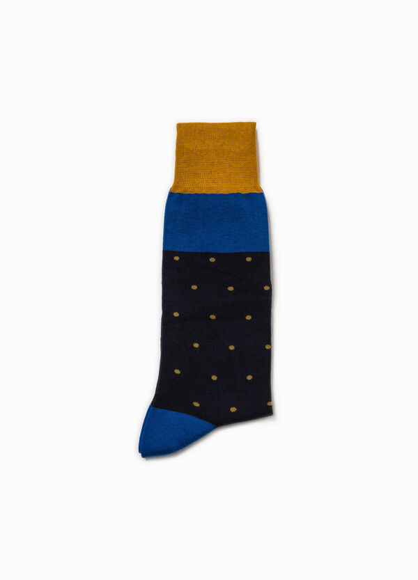 Polka dot short socks in stretch cotton | OVS