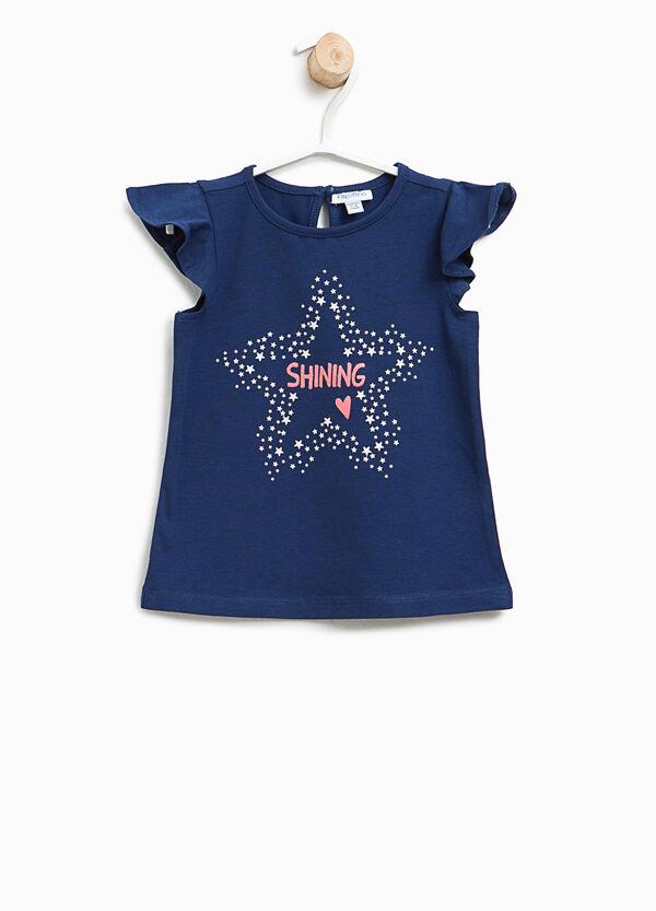 T-shirt con maniche ad aletta | OVS