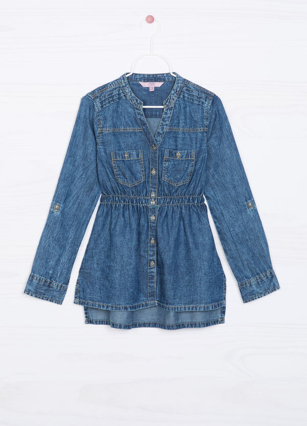 Camicia di jeans vita arricciata | OVS