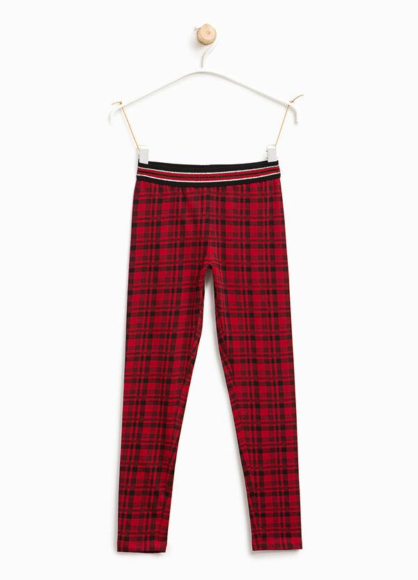 Leggings in cotone tartan | OVS