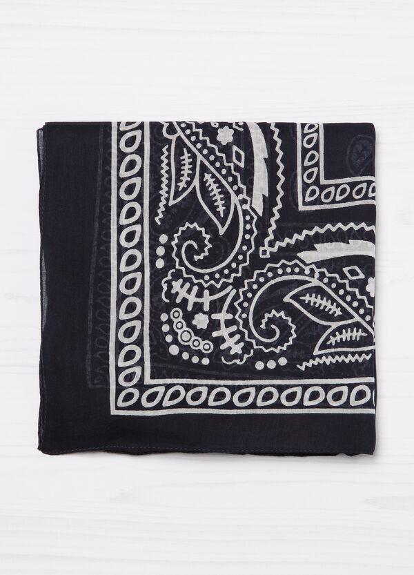 Sciarpa puro cotone stampata | OVS