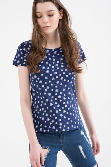 T-shirt cotone stretch fantasia
