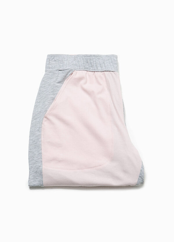Pantaloni pigiama in cotone stretch | OVS