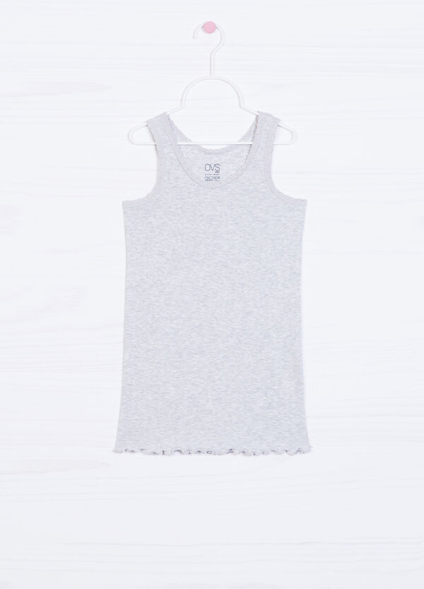 Stretch vest with lace | OVS