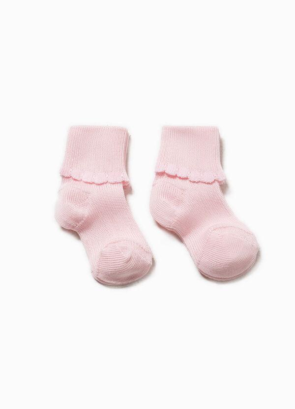 Set due paia di calze con risvolto | OVS