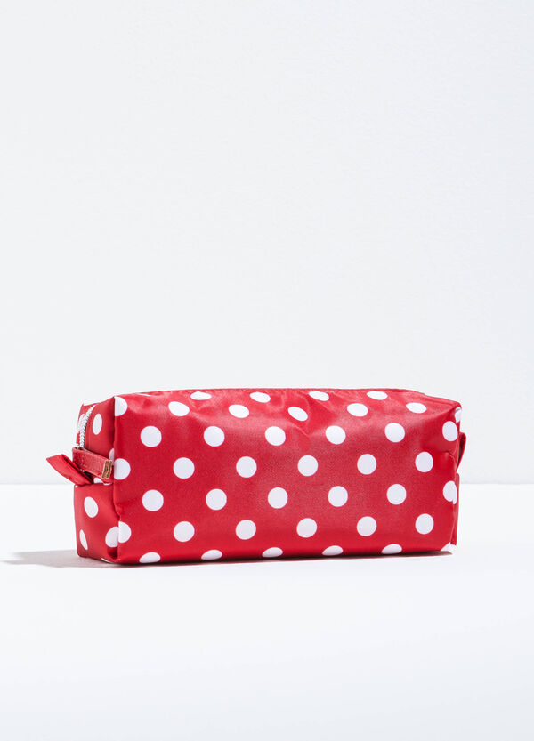 Patterned beauty bag with zip   OVS