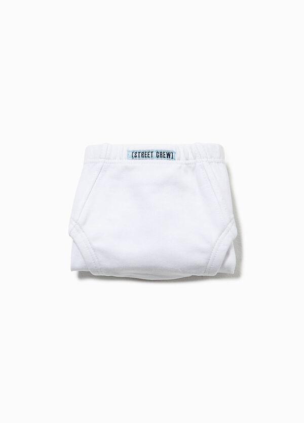 Slip in cotone organico con patch | OVS