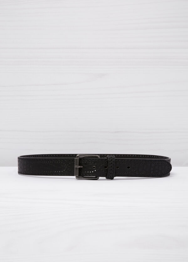 Cintura in similpelle martellata | OVS