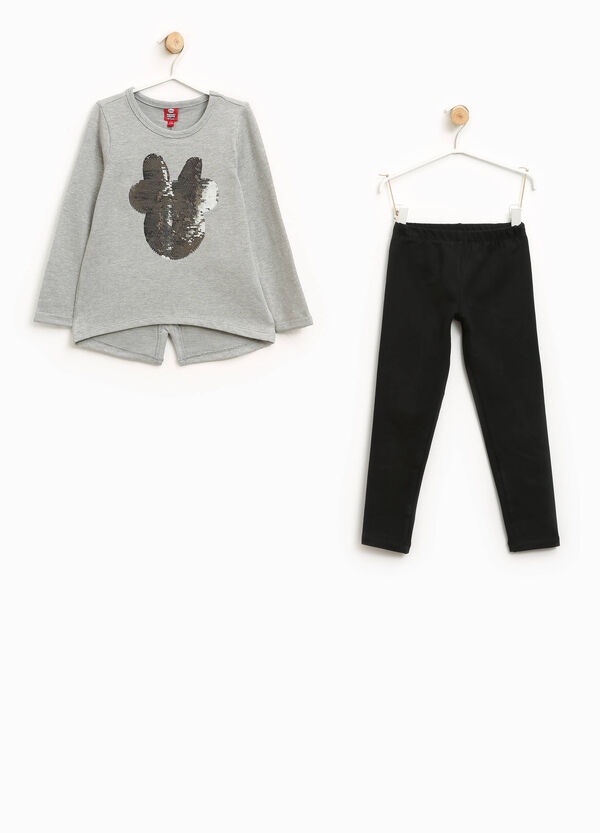 Tuta stretch con paillettes Minnie | OVS