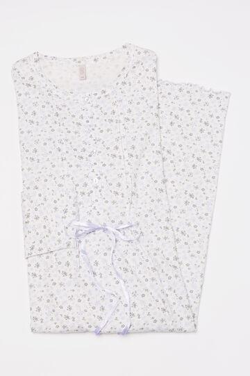 100% cotton printed nightshirt