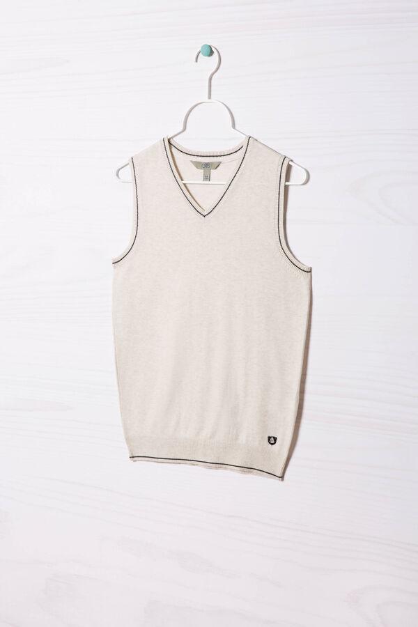 Gilet tricot misto cotone | OVS