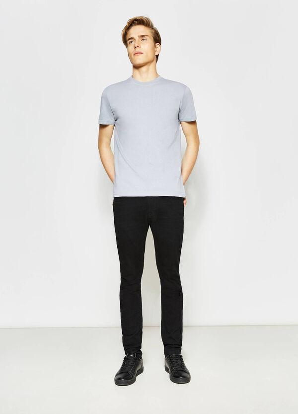 T-shirt girocollo in cotone | OVS
