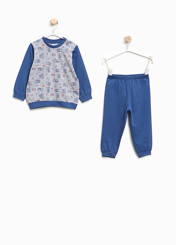 Organic cotton pyjamas with pattern | OVS