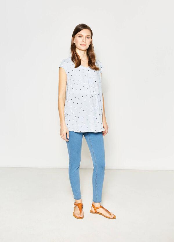 Jeans stretch tinta unita MUM   OVS