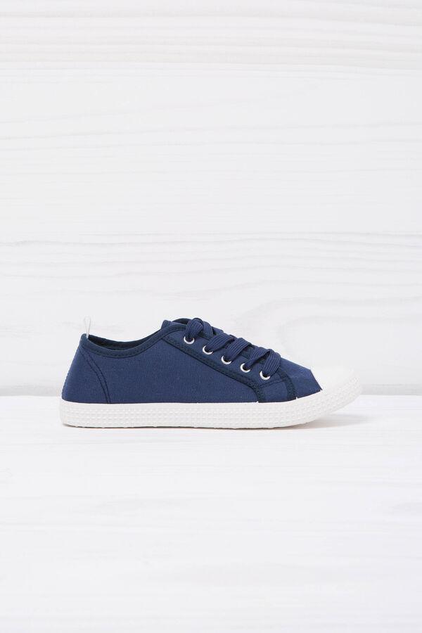 Sneakers basse tinta unita   OVS