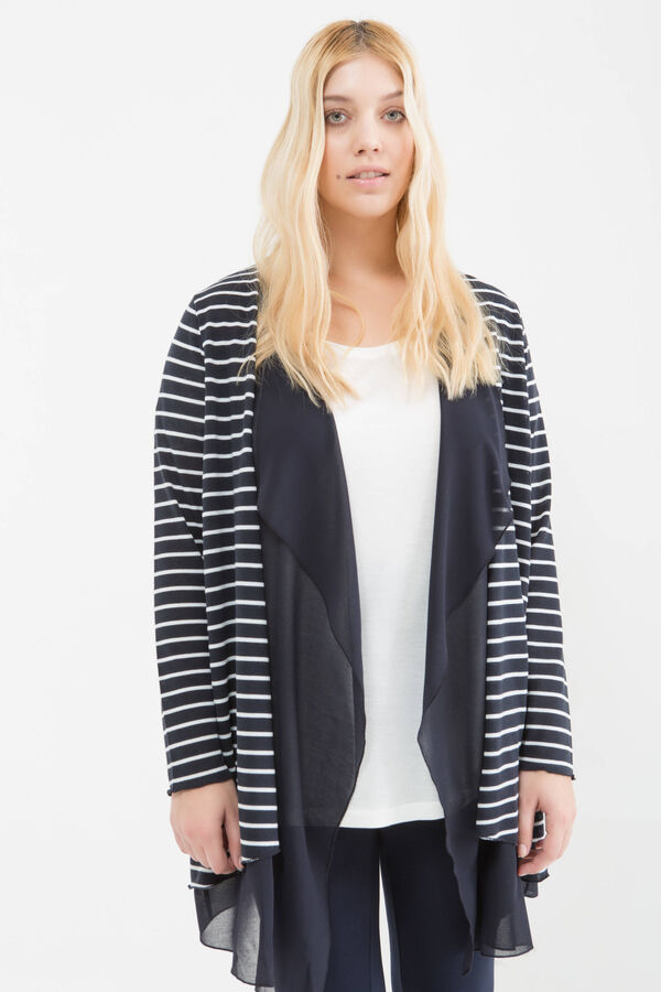 Cardigan fantasia righe Curvy | OVS