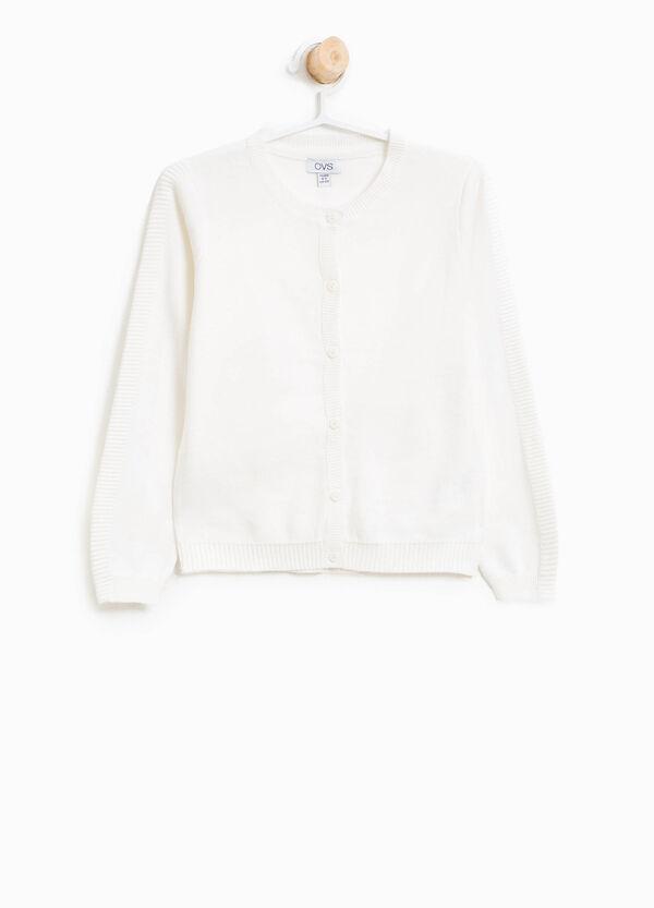 Cotton ribbed cardigan   OVS