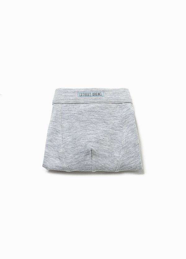 Mélange organic cotton boxers | OVS