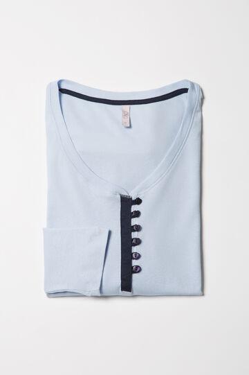 Curvy 100% cotton pyjama top