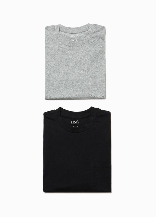 Set due maglie pigiama con taschino   OVS