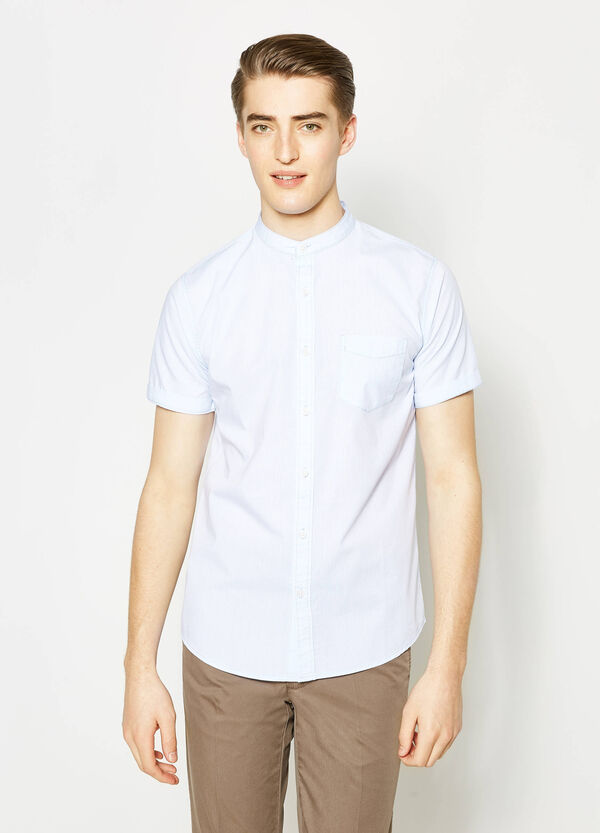 G&H short-sleeved casual shirt | OVS