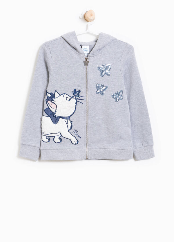 Sweatshirt with The Aristocats sequins and emberoidery | OVS
