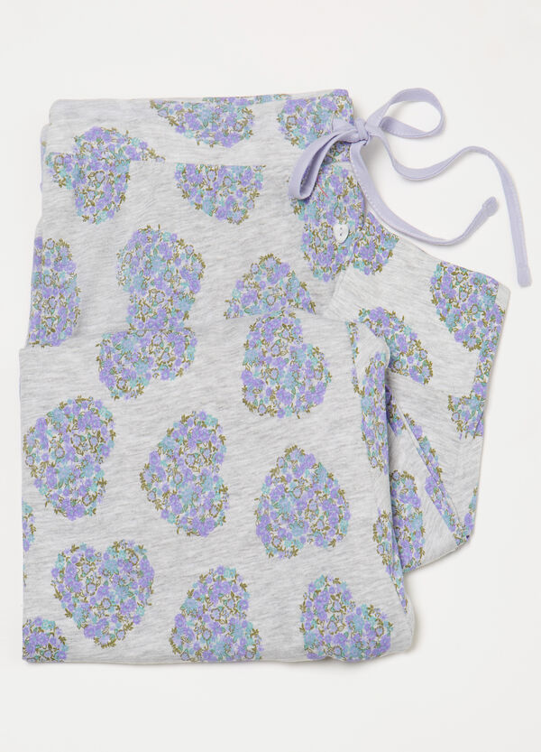 Curvy patterned pyjama trousers | OVS
