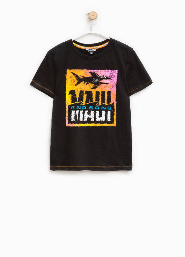 T-shirt with Maui and Sons print   OVS