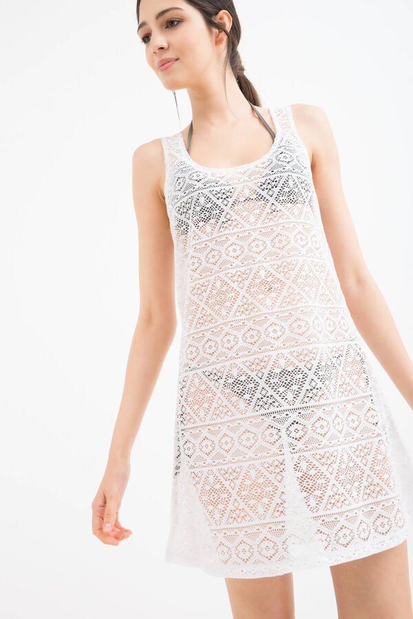 Openwork beach cover-up | OVS
