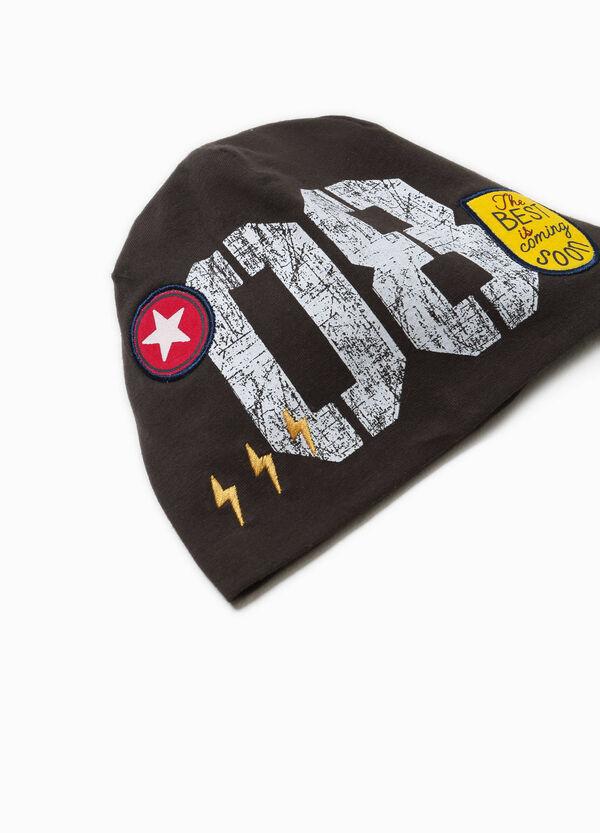 Cappello a cuffia stampa e patch | OVS