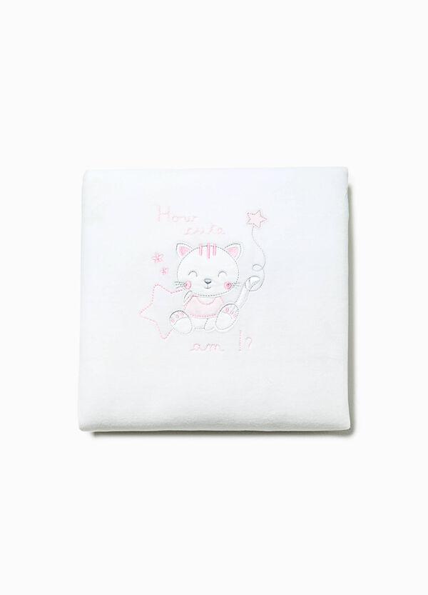 Cotton crib blanket | OVS