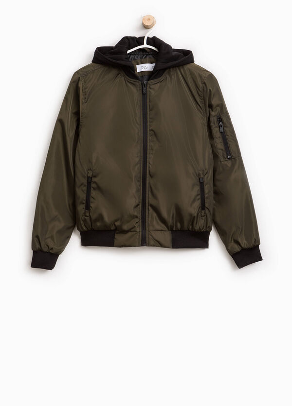 Bomber jacket with hood | OVS