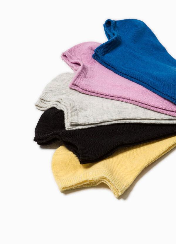 Pack de cinco pares de calcetines cortos | OVS
