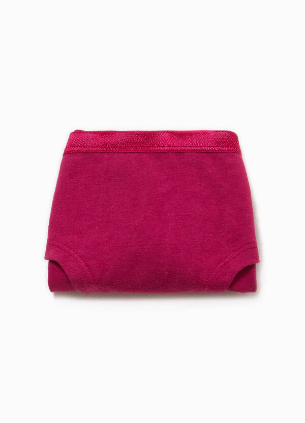 Organic cotton printed French knickers | OVS