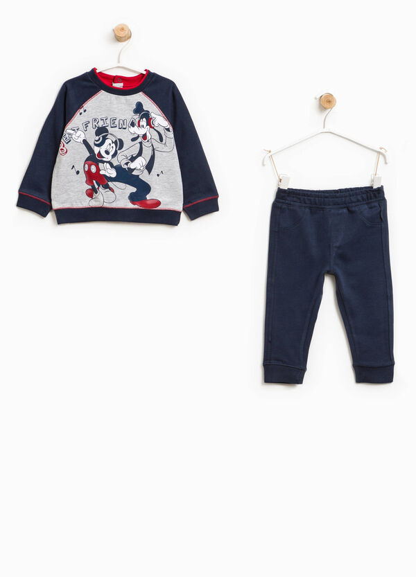 Mickey Mouse and Goofy cotton tracksuit | OVS