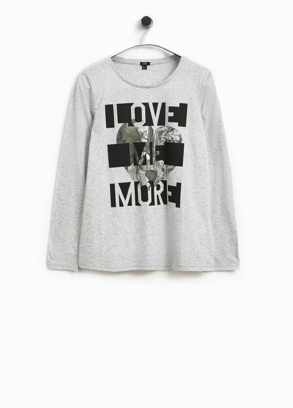 T-shirt cotone con stampa Smart Basic | OVS