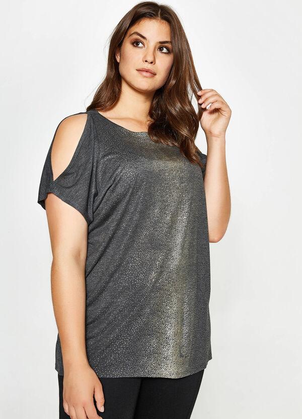 T-shirt in viscosa glitterata Curvy | OVS