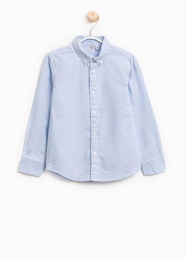 Camicia in puro cotone button down | OVS