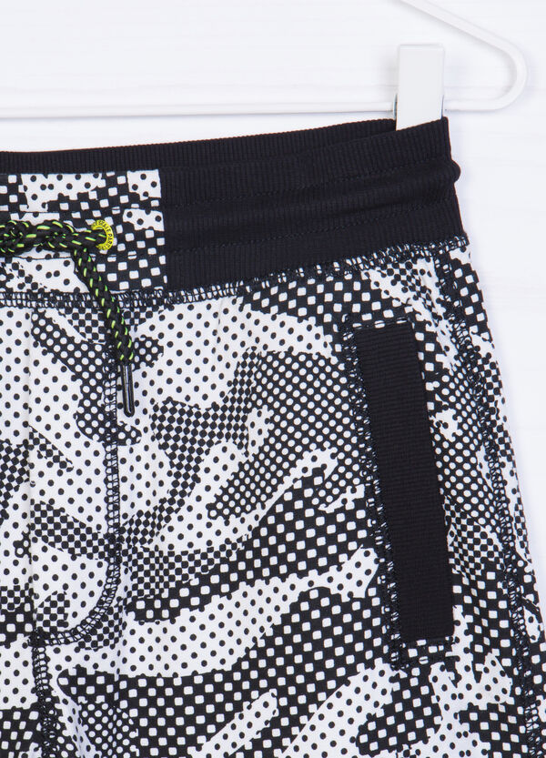 Shorts in 100% printed cotton   OVS