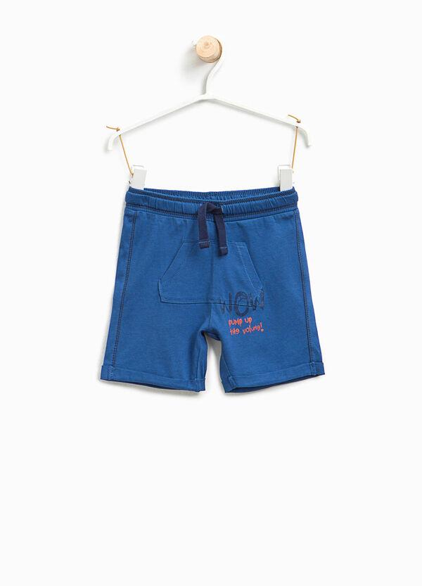 Bermuda in cotone con tasca marsupio | OVS