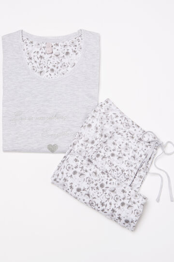 Printed pyjamas in 100% cotton