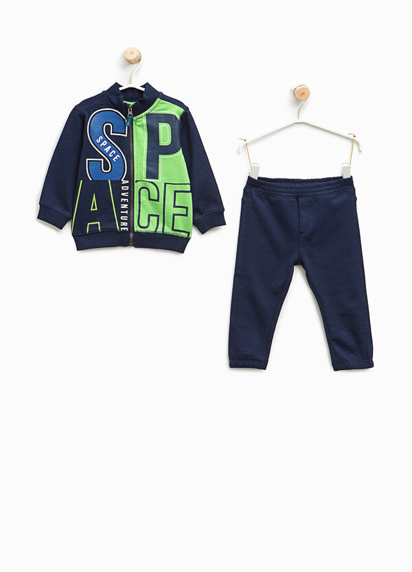 100% cotton tracksuit with insert | OVS