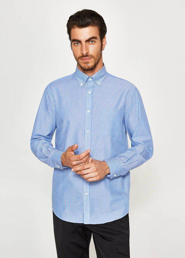 Camicia formale regular fit a righe | OVS