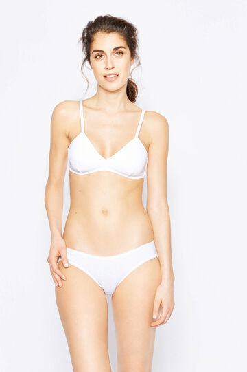 Two-pack soft triangle bras